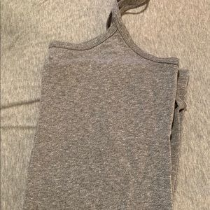 Buckle extra long tank tops